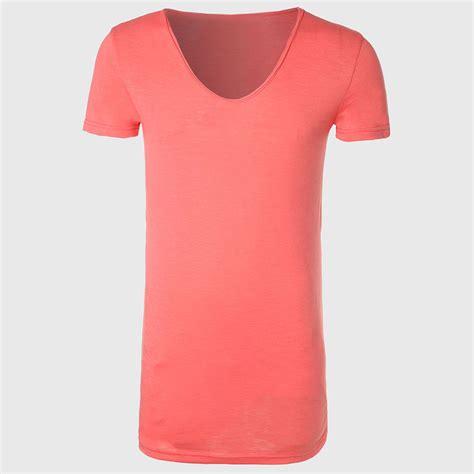 shirts for zecmos longline t shirt with v neck mens line t