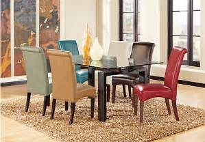 Rooms To Go Dining Harrison Park Charcoal 5 Pc Dining Room Dining Room Sets