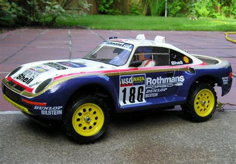 tamiya porsche 959 tamiya porsche 959 this thing was too fast for it s own