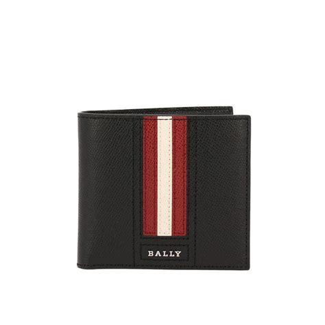 Bally Mans Wallet Bottom List bally wallet wallet bally black s wallets italist