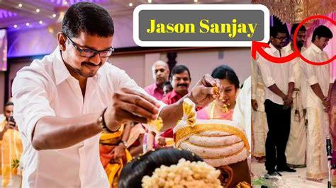 actor in canada thalapathy vijay and his son jason sanjay recent canada