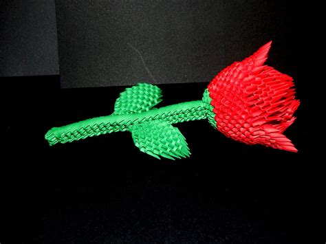 How To Make A 3d Paper - 3d origami flower www pixshark images galleries