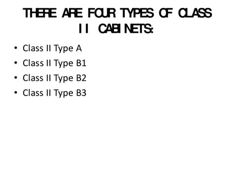 biosafety cabinet types fanti biosafety cabinet types ppt fanti