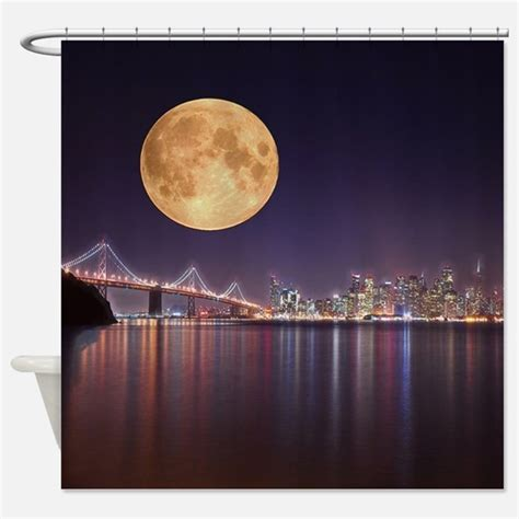 moon shower curtain moon shower curtains moon fabric shower curtain liner