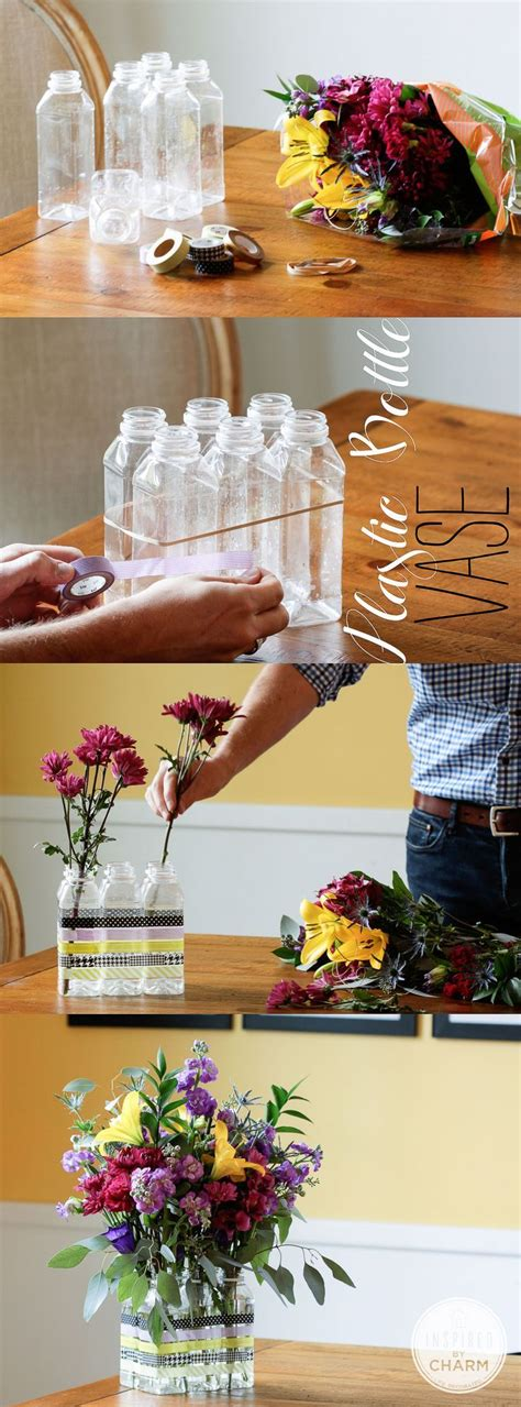 Diy Plastic Bottle Vase by Diy Plastic Bottle Flower Vase Pictures Photos And