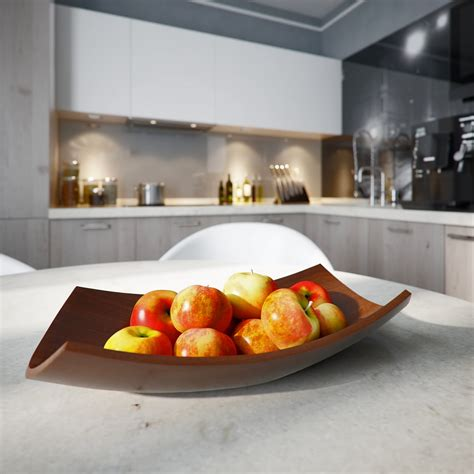 modern fruit bowl a small apartment with big dreams