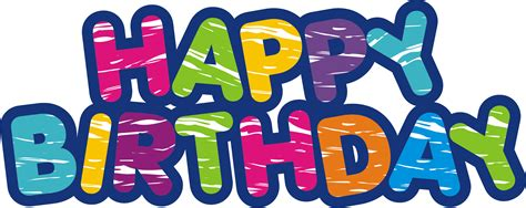 happy birthday 3d logo design gharse