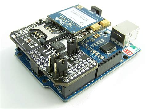 tutorial arduino gprs shield gprs quadband module for arduino
