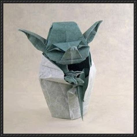 origami yoda pdf wars yoda origami step by step tutorial