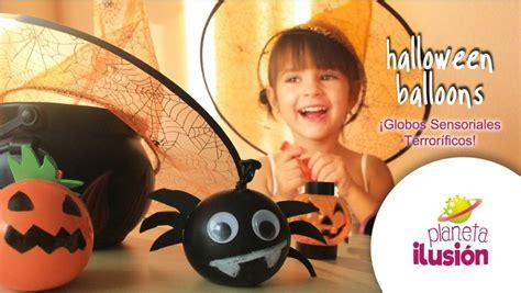 como decorar globos rellenos de harina manualidades f 225 ciles de halloween para ni 241 os manualidades