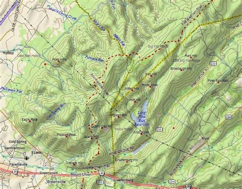 appalachian trail section distances 8 24 13 appalachian trail section hike big flat ridge pa