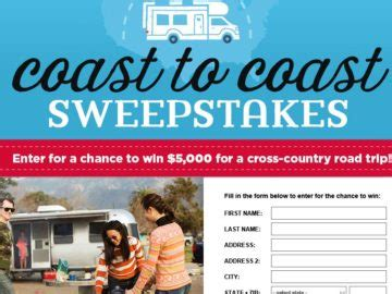country living sweepstakes country living go rving sweepstakes