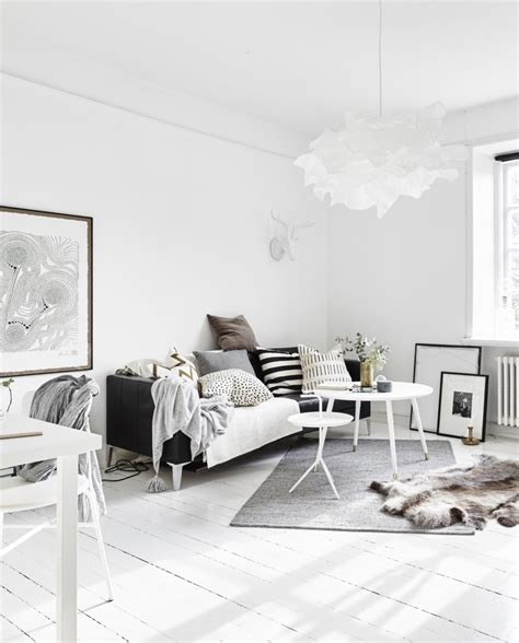 Black And White Scandinavian Interiors by Decordots Ideas For A Small Scandinavian Style Apartment