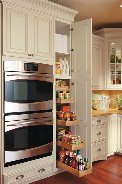 pullout pantry cabinet omega cabinetry