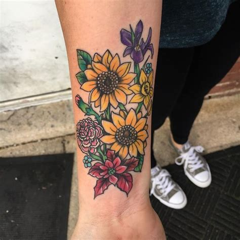 traditional sunflower tattoo sunflower meaning and designs 2018