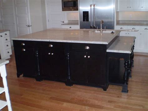 kitchen island with prep sink islands