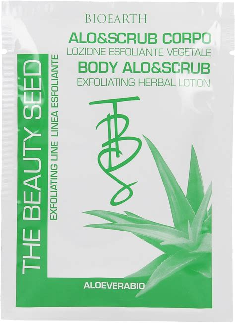 Scrub Tbs bioearth gommage corporel alo scrub tbs en sachet