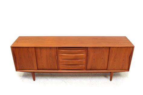 1960s Arne Vodder Teak Sideboard Danish Modern Design 1960 Modern Furniture