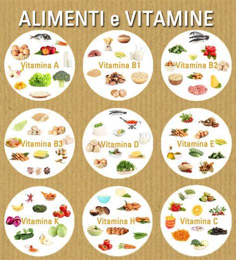 vitamine e alimenti poteri e propriet 224 della vitamine