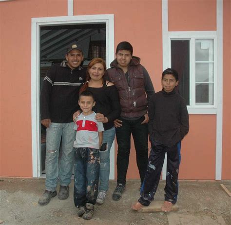 poor family in mexico given new home and new start from
