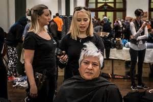 haircuts downtown edmonton helping hands and haircuts welcomed at homeless connect