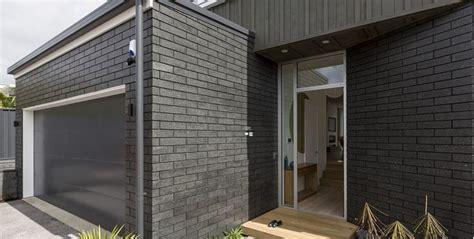 Brick Homes Black Brick And Black Mortar Nz Google Search Dark
