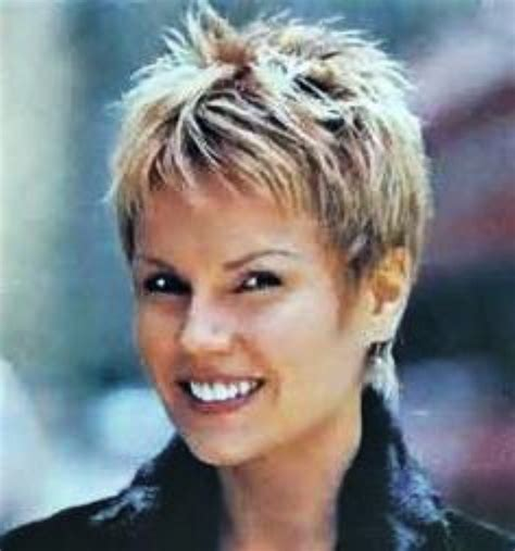 ladies short spiked hair for over 60s super short spiky hairstyles for women
