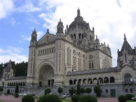 st therese basilica lisieux france 17 best images about places i want to go on pinterest