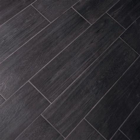 15x60cm Carbon Vintagewood tile GS N3016   Dark, Bathroom