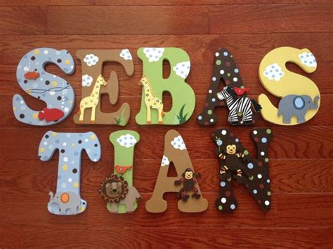 Ss Noah Crib Bedding Custom Painted Letters Match Lambs Ss Noah Crib Bedding Noah S Ark Jungle Animals