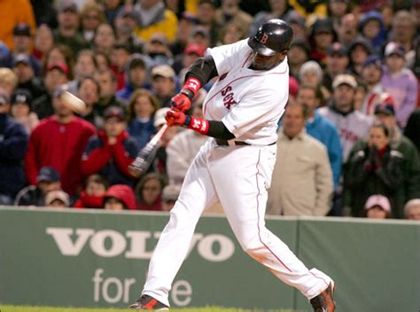 david ortiz swing the windbreaker dirt dogs boston red sox nation