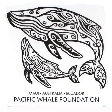 tribal whale tattoo sticker pwf tribal whale pacificwhale org tattoos i