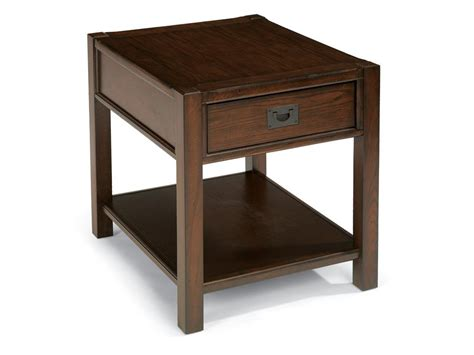 End Tables Living Room Flexsteel Living Room End Table 6625 01 Siker Furniture Janesville Wi