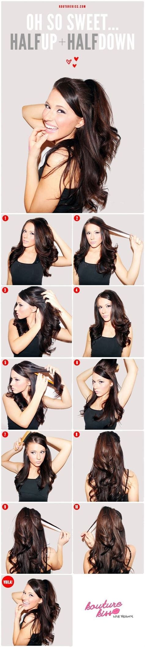 how to do the ariana grande hairstyle 20 fabulous half up half down hairstyles for 2016 photo