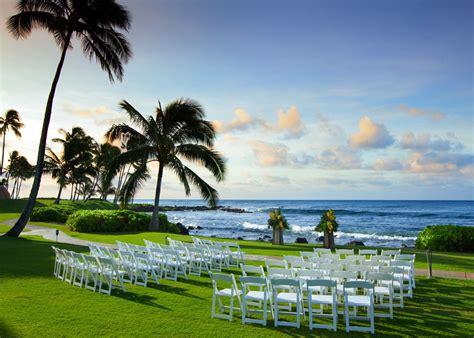 Wedding Venues Kauai by Kauai Wedding Venues Sheraton Kauai Resort