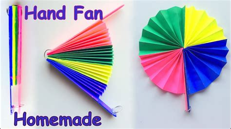 How To Make A Japanese Fan Out Of Paper - diy paper fan best out of waste