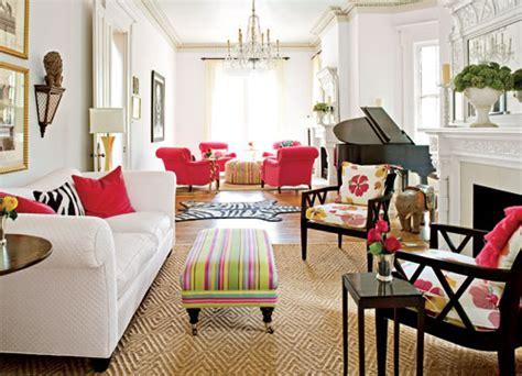 Bunte Wohnzimmermöbel by Farbpsychologie Leuchtende Farben Im Interieur Design