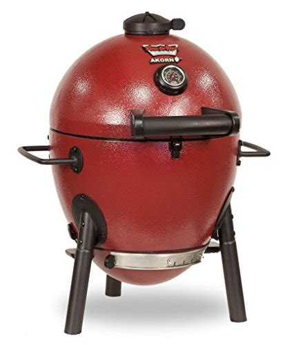 char griller e06614 akorn jr kamado kooker charcoal grill red ceramic grill reviews