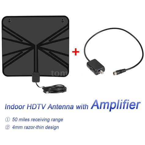 50m range digital indoor hdtv tv antenna lified power supply lifier g6z7