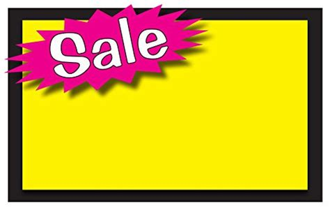 Retail Sale Signs Template 5 5 Quot X3 5 Quot Blank Sale Price Tags 50 Pack Sale Signs Templates Free