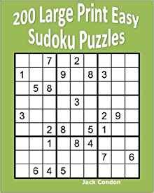 large print easy crossword puzzle books 200 large print easy sudoku puzzles jack condon