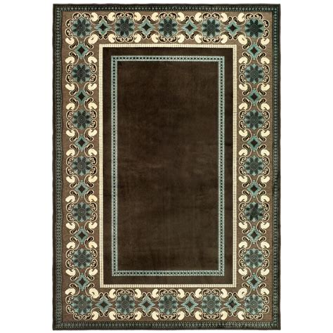 martha stewart living rugs martha stewart living taj mahal light brown 5 ft 3 in x 7 ft 6 in area rug msr4440c 5 the