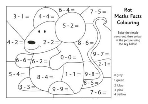 printable math coloring pages coloring me