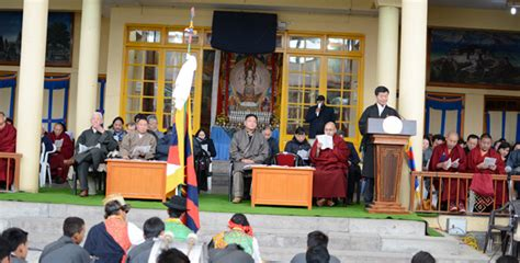 doctor from lhasa lobsang ra uprising day sikyong and the government send messages to