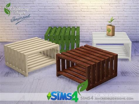 Sims 4 Foyer by The Sims 4 Gardening Foyer End Table By Simcredible