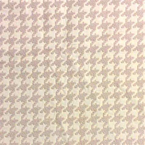 Large Scale Houndstooth Upholstery Fabric by Houndstooth Taupe And Ivory Classic Houndstooth Heavy