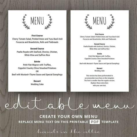 menu card template pdf luxury wedding invitation text pdf wedding invitation design