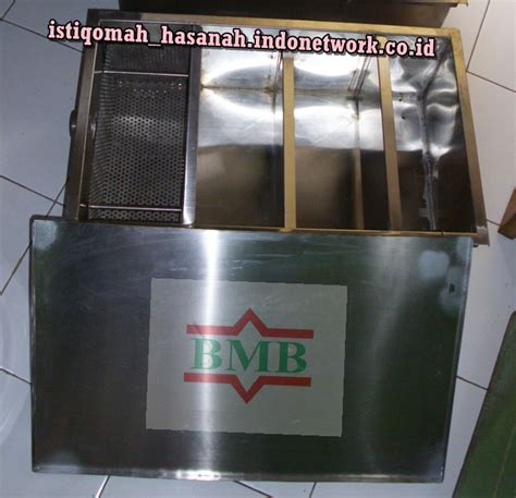 Alat Pemisah Lemak Dapur saringan lemak jual grease trap stainless alat penyaring lemak