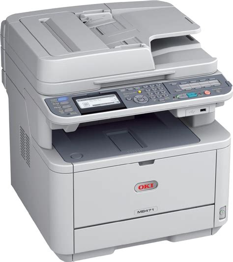 Printer Oki Okidata Mb471w Multifunction Laser Printer Copyfaxes