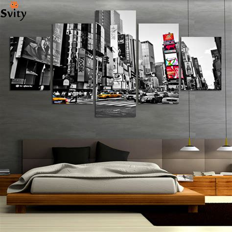 canvas print without frame 2016 hot sales without frame 5 panels picture new york
